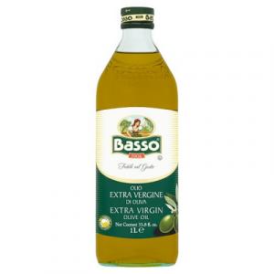 BASSO EXTRA VIRGIN OLIVE OIL 1 x 1LT