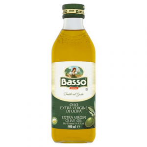 BASSO EXTRA VIRGIN OLIVE OIL 1 x 500ML