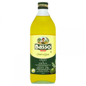 BASSO PURE OLIVE OIL 1 x 1LT