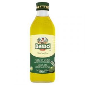 BASSO PURE OLIVE OIL 1 x 500ML
