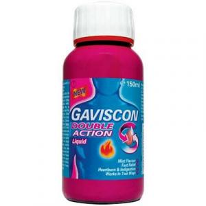 GAVISCON D/ACTION LIQUID 1X150ML
