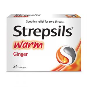 STREPSILS WARM 1X2X12S