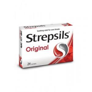 STREPSILS ORIG REGULAR 1X2X12S