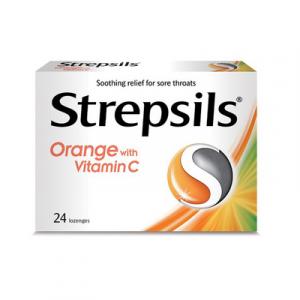 STREPSILS ORIG WITH VIT C 1X2X12S