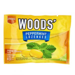 WOOD'S PEPPERMINT DROPS - H/LEMON 1X15G