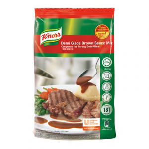KNORR DEMI GLACE BROWN SAUCE 1X1KG