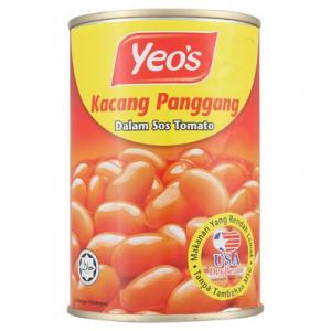 YEO'S BAKED BEAN T/S(L) 1x425G