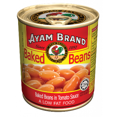 AYAM BRAND BAKED BEANS IN TOMATO 1 x 230G