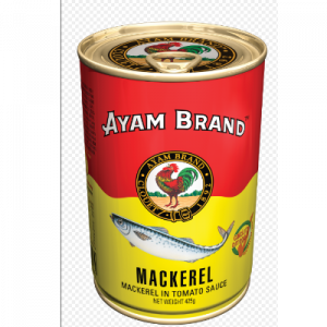 AYAM BRAND MACKERELS TOM 1x425G