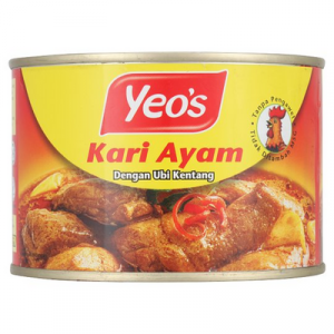 YEO'S CURRY CHIC (L) 1 x 405G