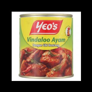 YEO'S CHICKEN VINDALOO 1X285G