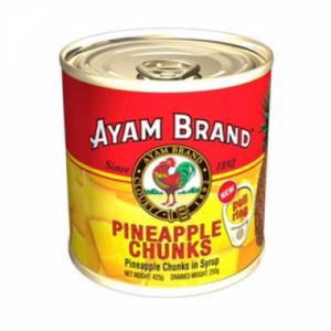 AYAM BRAND MIXED P/APPLE CUB 1 x 454G