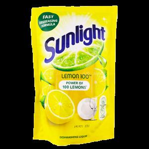 SUNLIGHT D/WASH LIQ POUCH LEMON 1X700ML