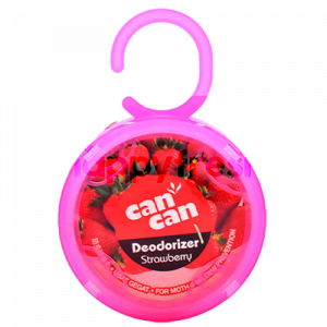 CAN CAN DEODORIZER S/BERRY 1X100G