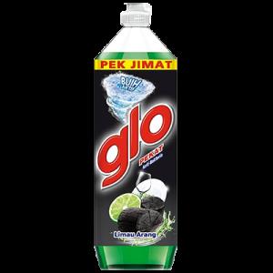 GLO D/WASH LIQ JUMBO L/CHARCOAL 1X1.35L