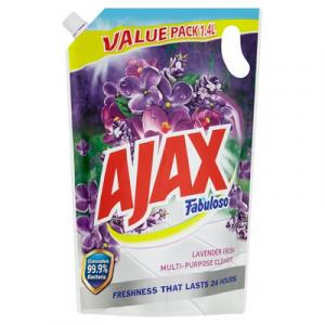 AJAX FAB DOY PACK LAVENDER 1X1.4LIT