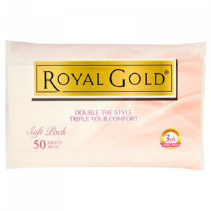 ROYAL GOLD TWIN TONE SOFT PACK 1X3X50S