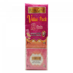 ROYAL GOLD TWIN TONE SOFT PACK 1X12X50'S