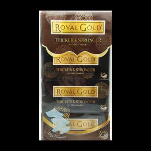 ROYAL GOLD LUX  WHITE F/TISSUE 1X4X120'S