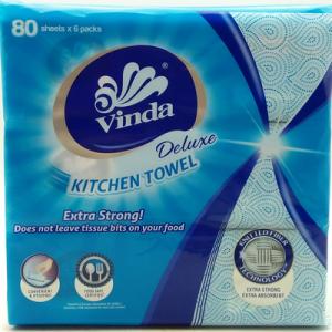 VINDA DELUXE KITCHEN TOWEL 1X6X80'S