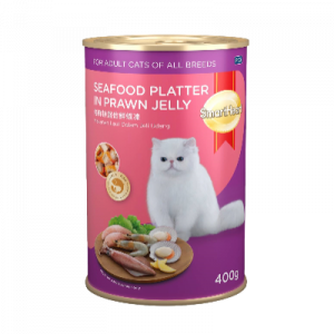S/HEART CAT CAN FOOD SEAFOOD 1X400G