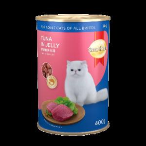 S/HEART CAT CAN FOOD TUNA 1X400G