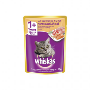 WHISKAS POUCH SEAFOOD COCKTAIL 1X85G
