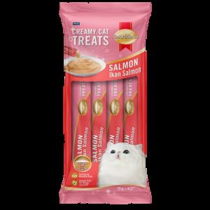 SMART HEART CAT CRMY TRT - SALMON 1X4X15G