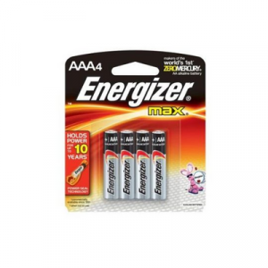 ENERGIZER MAX AAA X 4 (E92BP4TTM) 1X4'S