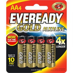 EVEREADY GOLD AA X 4 (A91BP4M) 1X4'S
