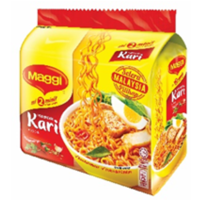 MAGGI INS MEE CURRY  1 X 5X79G