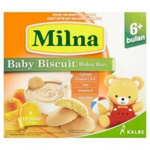 MILNA BABY RUSK ORANGE 1 X 130G