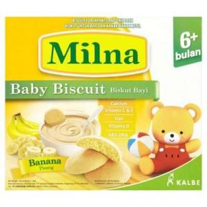 MILNA BABY RUSK BANANA 1 X 130G