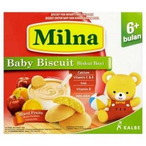 MILNA BABY RUSK MIX FRUIT 1 X 130G
