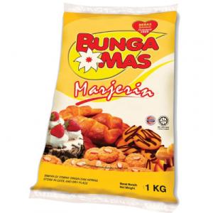 BUNGA MAS MARGARINE 1 x 1KG