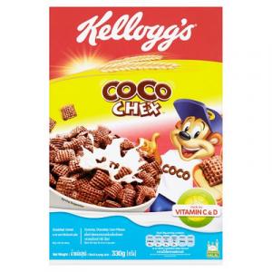 KELLOGG'S CHOCOS CHEX 1 x 330G