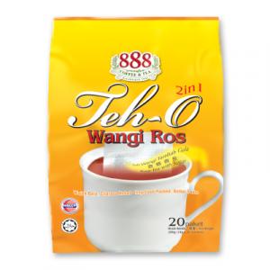 888 2IN1 TEA O WANGI ROS 1 x 20X14G