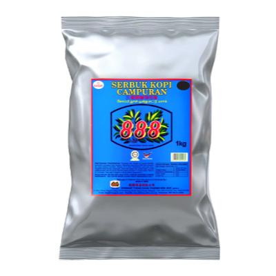888 COFFEE POWDER BLUE LABEL 1 x 1KG