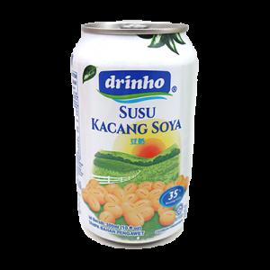 DRINHO CAN SOYA MILK 1 x 300ML