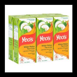 YEO'S W/MELON TEA 1X6X250ML