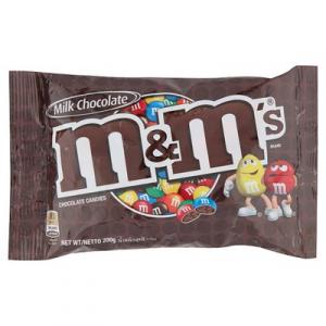 M&M'S  MILK CHOC 1 x 180G