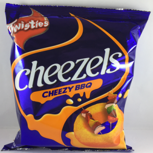 CHEEZELS BBQ CHEESE 1 x 60G