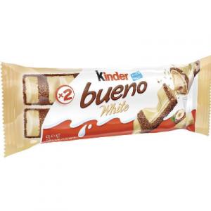 KINDER BUENO T2 WHITE 1 X 43G