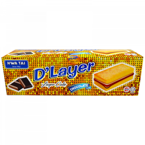 HWA TAI D'LAYER CAKES CHOCOLATE 1x24x17G