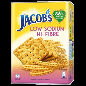 JACOB'S LO SALT FIBRE 1X700G