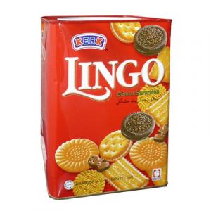 KERK LINGO ASST BISCUIT 1 x 600G