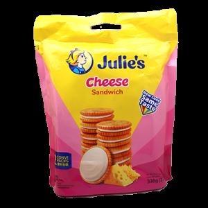 JULIE'S CHEESE S/WICH 1 X 330G