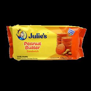JULIE'S PEANUT S/WICH 1 X 135G