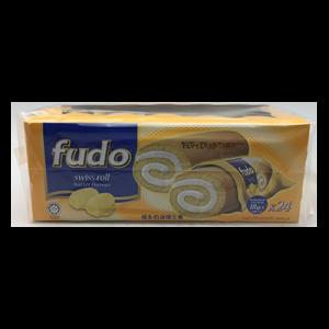 FUDO SWISS ROLL BUTTER 1 X 24X22G