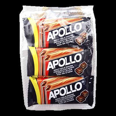 APOLLO STICK WAFER CHOC 1x12X15G